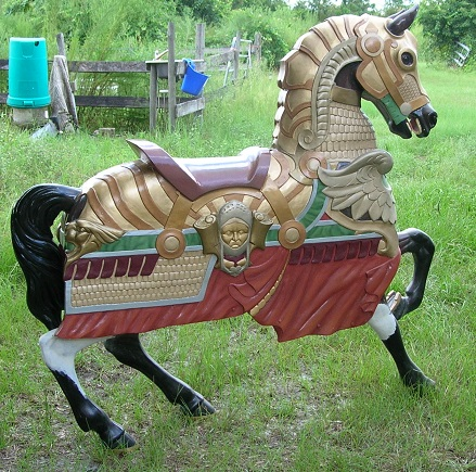 Medieval Armored Horses