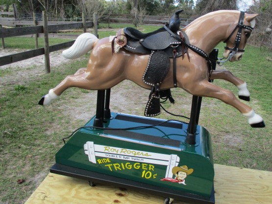 Deluxe Coin Operated Roy Rogers' Trigger