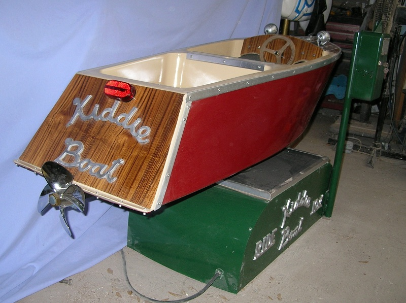 Custom Kiddie Boat Ride with Wood