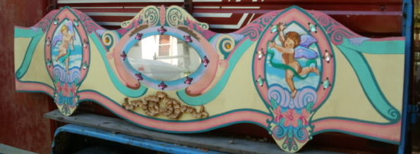 Dentzel Style Carousel Panel 106 x 28inches