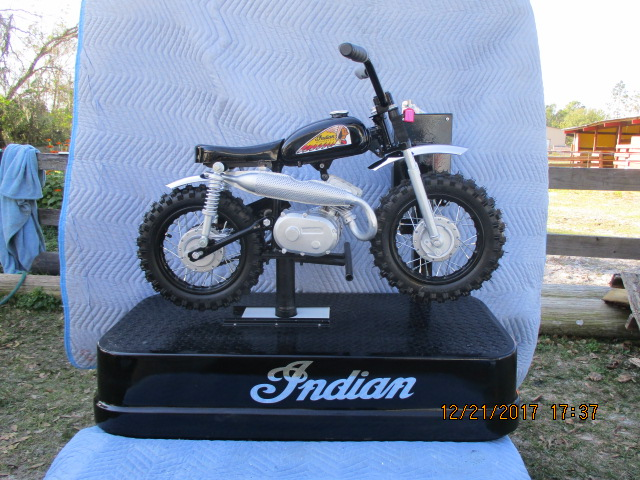 Coin Operated Kiddie Ride Indian Motorcycle