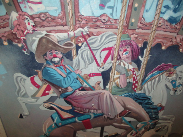 Ron Lee Carousel Signed/Numbered Serigraph