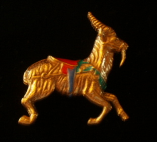 Smithsonian Collection Dentzel Carousel Goat Pin