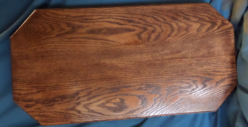 Wood Base - For Jumper  Oak stained Mahagony color