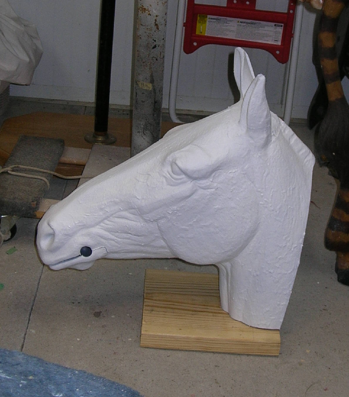 Table Top Horse Head for Displays