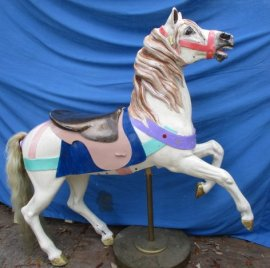 SOLD Dentzel Carousel Prancer Mare Reproduction
