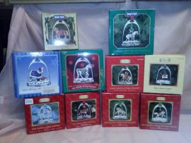 Breyer Stirrup Christmas Ornaments 10 pieces