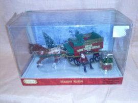 Breyer Christmas Ornaments Horse and Sleigh 2006
