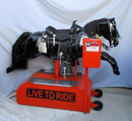 Our Harley (Sandy) Coin Operated Horse