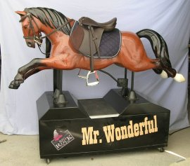 Special Order English Coin Operated Horse