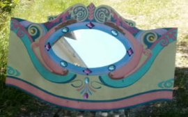 Dentzel Style Carousel Panel 48x 28inches