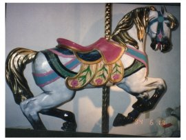 PTC Large Carousel Jumper - Unpainted 58 inches long