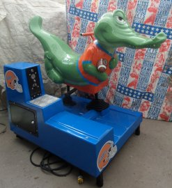 "Florida Gator ""Albert"" Coin Operated Kiddie Ride"