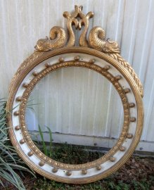 Dolphin Mirror or picture frame 44 inches tall