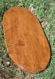 New...Oval Wood Carousel Horse Base for Jumpers