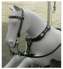 Coin-Op Horse Bridle and Breast Collar