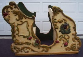 Carousel Chariot, Original Antique