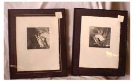 Illions Carousel Horse Lithographs, Set of 4, Ltd. Ed.