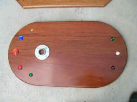 Jeweled Wood Base Set