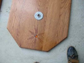 Inlaid Wood with Jewel Base Set