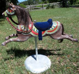 Vintage Rocking Horse in Arabian Costume
