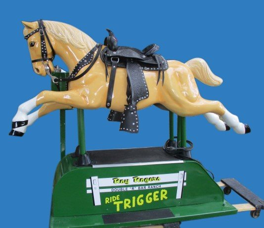 Coin Operated Roy Rogers' Trigger